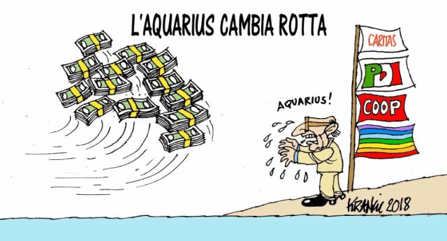 Tutta la verità sulla nave Aquarius e sul gioco sporco delle Ong e di chi lucra sulla pelle dei migranti.