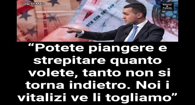 """Vitalizi, Di Maio stronca le proteste: """"Non si torna indietro. Mettetevi l'anima in pace"""""""
