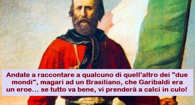 138 anni fa, il 2 giugno del 1882 moriva Giuseppe Garibaldi. Nei libri di storia ci propinano la favoletta  dell'Eroe dei Due Mondi… In realtà era solo uno squallido mercenario, massone, affamato di sangue e denaro… Una vergogna tutta Italiana…!