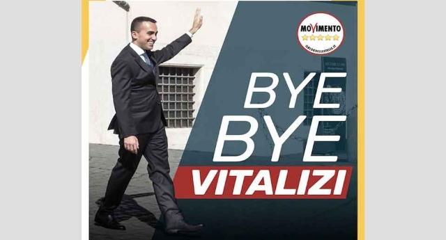 """Taglio dei vitalizi, Luigi Di Maio: """"Risparmio di 200 milioni di Euro per ogni legislatura"""" …Vi sembrano pochi?"""