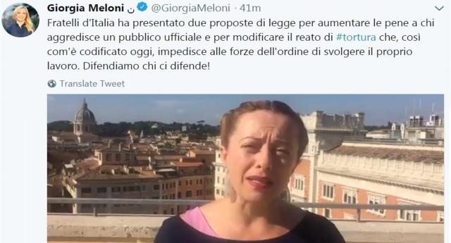 Ricapitoliamo: Giorgia Meloni attacca Macron per l'intervento in Libia del 2011. In realtà Macron nel 2011 ancora non c'era, mentre la Meloni SÌ. Era al governo e votò a favore. È c'è gente che a questi cialtroni gli dà pure il voto!