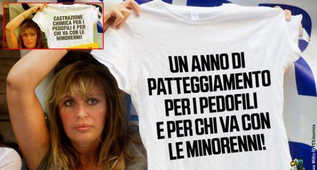 """La Mussolini: """"Imbarcate la Boldrini per la Libia""""… Ora, con tutta la poca stima che abbiamo per la Boldrini, almeno lei in Libia, come nel resto di Africa, SudAmerica e Asia, c'è stata per 25 anni, in coerenza con quanto dice oggi. A differenza di chi parla di pedofilia e si tiene in casa il marito che patteggia per prostituzione minorile!"""