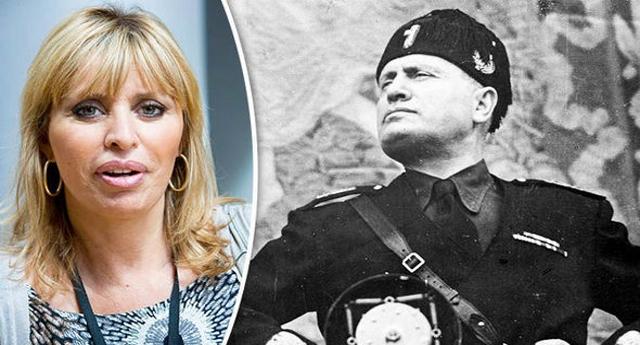 """Alessandra Mussolini minaccia querele per chi offende il Duce… La risposta dell'AMPI non sui fa attendere: """"suo nonno era un criminale, si rassegni"""""""