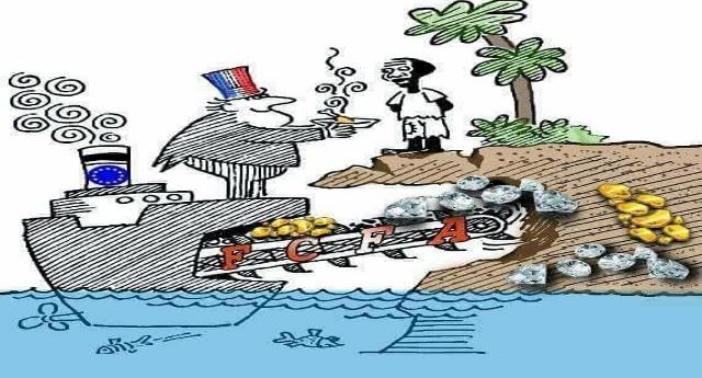"""In Niger strage continua per malaria, fame e colera …È tra i 10 paesi più poveri al mondo, ma solo perché il loro Uranio, i loro Diamanti ed il loro Oro arricchiscono solo i Francesi che """"controllano"""" la loro economia…"""
