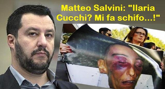 """Dopo la confessione dei Carabinieri che pestarono a morte Stefano, Matteo Salvini invita Ilaria Cucchi al Viminale …Si, Matteo Salvini quello che diceva: """"Ilaria Cucchi mi fa schifo"""""""
