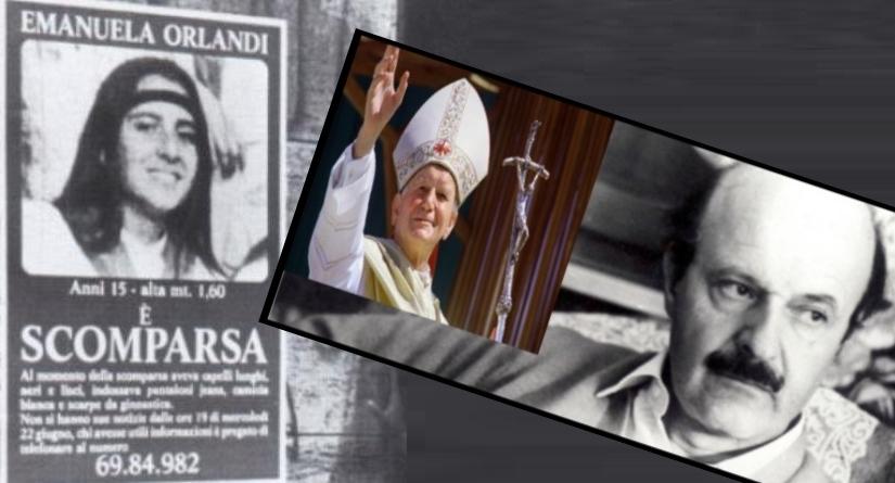 Emanuela Orlandi e quella strana lettera di Roberto Calvi a Papa Giovanni Paolo II scritta 12 giorni prima di essere ammazzato. E dietro storie di strutture segrete anticomuniste finanziate dallo Ior, massoneria e malavita organizzata.