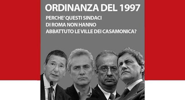 Casamonica – La prima ordinanza di sgombero risale al '97: perché prima della Raggi i sindaci di Roma si sono ben guardati di abbattere le ville abusive?
