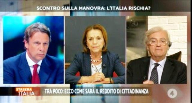 """Pensioni – L'economista Antonio Maria Rinaldi contro la Fornero: """"Non c'erano i soldi? Per le banche li avete trovati, tanti e subito"""" – L'ex ministro umiliata con dati tanto incontrovertibili quanto vergognosi…"""