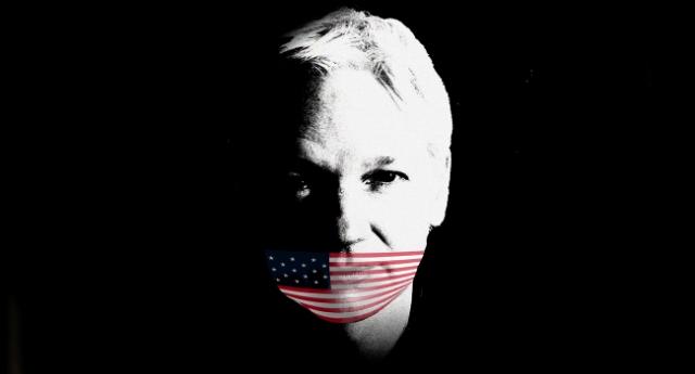 Julian Assange con le spalle al muro – Perseguitato perchè voleva divulgare la verità, quelli che comandano il mondo, con a capo gli Stati Uniti, sono ad un passo dal suo annientamento!
