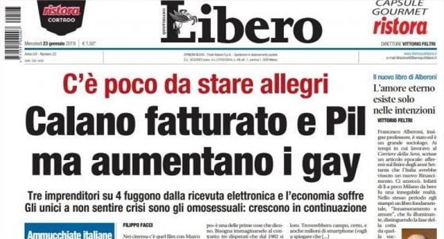 C'è davvero poco da stare allegri – Se il giornalismo Italiano è questo, siamo proprio nella cacca…!