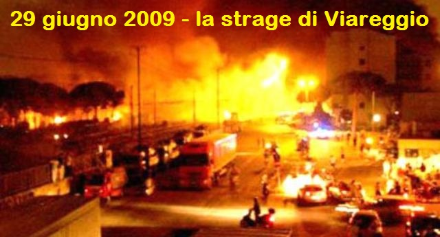 A 10 anni dalla strage-vergogna di Viareggio in cui perirono 31 persone, un pensiero all'Ad di Ferrovie dello Stato Mauro Moretti: premiato dopo il rogo e carriera folgorante…!