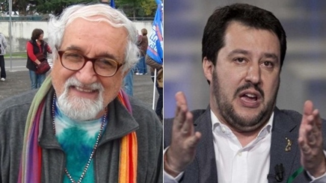 """Padre Alex Zanotelli: """"Salvini non è al di sopra della legge, va processato"""""""
