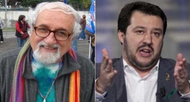 """""""È pieno di odio""""… Lo ha detto Salvini, quello che lascia affogare i migranti, rivolgendosi a padre Zanotelli, una vita in aiuto della gente in Sudan e Kenia e sempre dalla parte dei più deboli… Non trovate anche voi che c'è qualcosa che proprio non quadra…?"""