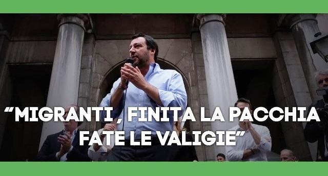 Matteo Salvini insiste che la Libia è un porto sicuro. Per la Commissione Onu è lo stupro quotidiano di donne, uomini e bambini… Coscienza tranquilla? …Si può prendere per il culo l'elettore, non Dio…!