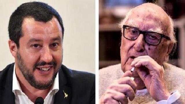 """Andrea Camilleri contro Matteo Salvini: """"Io so bene cosa è il fascismo, Salvini sarebbe stato un meraviglioso gerarca di Mussolini"""""""