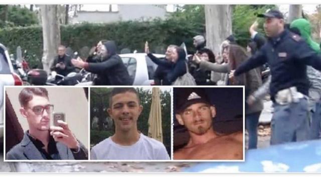 Stupro di Napoli, ignobile scena all'uscita dal Commissariato: applausi ai tre violentatori da parenti e amici mentre la polizia sta a guardare! …Ma che applaudite, questi sono solo FECCIA SCHIFOSA. E voi che li applaudite LO SIETE DI PIÙ…!