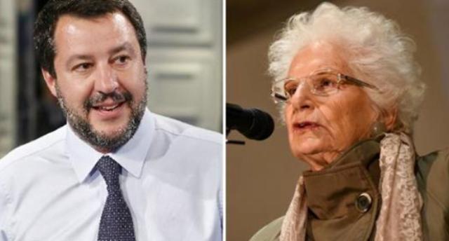 """25 aprile, Liliana Segre contro Matteo Salvini: """"Chi fa politica non può ignorare la storia – Con ognuna di queste dichiarazioni chi ha dato la vita muore una volta di più""""."""