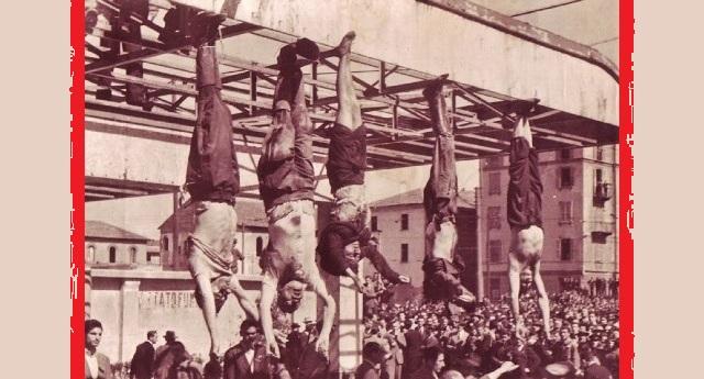 28 aprile, l'esecuzione di Benito Mussolini – Un particolare che molti ignorano: non furono i Partigiani ad appenderlo, ma i Vigili del Fuoco, per evitare che la gente (la stessa che l'aveva sostenuto) facesse scempio del corpo…!