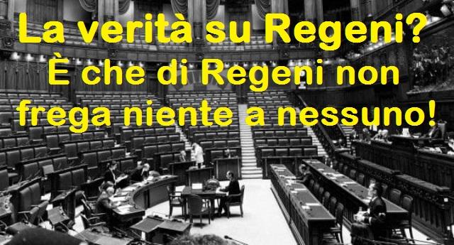 La verità su Regeni? È che di Regeni non frega niente a nessuno! – Al dibattito alla Camera presenti solo 19 deputati…!