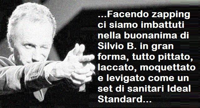 """Ancora tu – il fantastico editoriale di Marco Travaglio dedicato al ritorno in Tv di Silvio Berlusconi """"tutto pittato, laccato, moquettato e levigato come un set di sanitari Ideal Standard"""""""