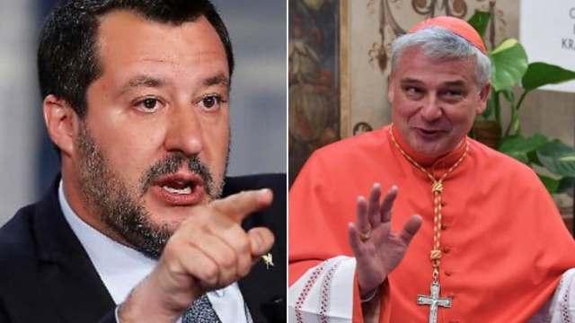 """Salvini contro Elemosiniere del Papa che riattacca luce in stabile occupato: """"le bollette si pagano, ci sono 300.000 Euro di arretrati"""" …Cogliamo l'occasione per ricordargli che a Roma c'è un altro stabile occupato dai fascisti di Casapound; anche qui sono 300.000 Euro di bollette arretrate, ma nessuno stacca la luce…!"""