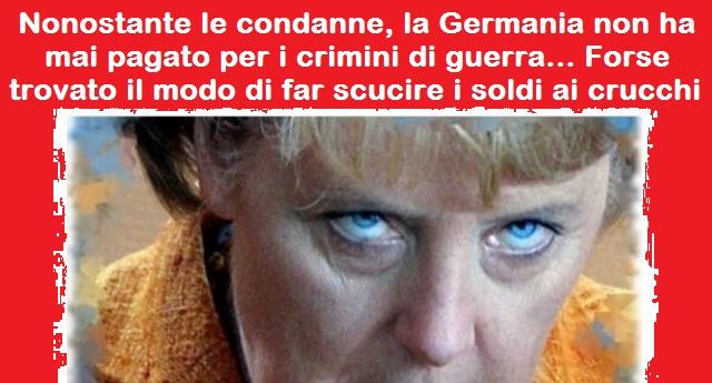 Pignorare i beni tedeschi in Italia per il risarcimento delle vittime del nazismo, che la Germania si è sempre guardata bene di pagare: il caso – sollevato da un avvocato tedesco che risiede in Italia – è ora arrivato in Cassazione