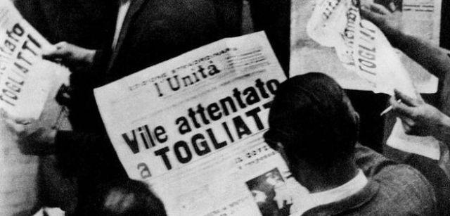 14 luglio del 1948 – Settantuno anni fa l'attentato a Togliatti e l'Italia sull'orlo dell'insurrezione