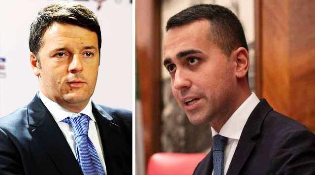 """Di Maio di fuoco contro Matteo Renzi: """"dice che gli faccio schifo, a me fa schifo il loro silenzio sul caso Bibbiano"""""""