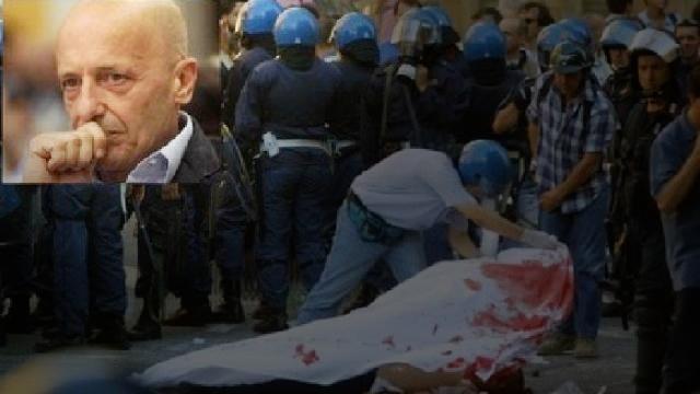"""20 luglio 2001 – G8 Genova, l'assassinio Carlo Giuliani. Vogliamo solo ricordare un grande esempio di giornalismo: ALESSANDRO SALLUSTI: """"HANNO FATTO BENE A SPARARGLI"""""""