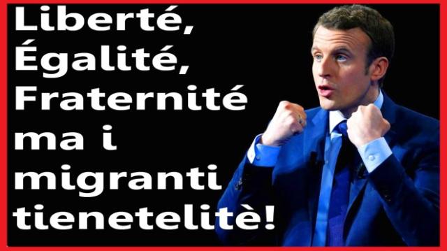 """La Francia solo negli ultimi 12 mesi ha ributtato in Italia qualcosa come 18.125 immigrati. Se avessimo un Ministro degli Interni serio, uno che non perde tempo a fare la guerra ad una ragazzina con 40 migranti, forse tutto questo non succederebbe…! …E forse ne parlerebbe anche qualcuno dei Tg ora """"obbligati"""" a parlare solo delle Ong"""
