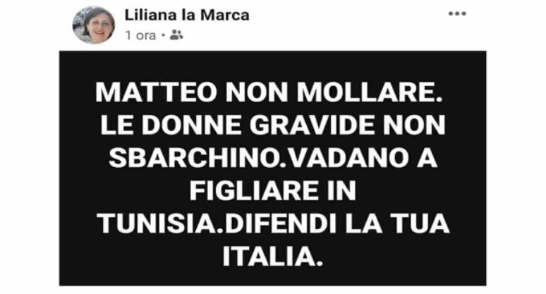 Questa è LILIANA LA MARCA… Una che vota Salvini… Ecco perché non potrò mai essere leghista…