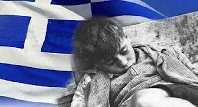 """Ecco a Voi l'austerità imposta dall'Unione Europea: in Grecia chemioterapia sospesa a tempo indeterminato… E non dimentichiamo quando Monti diceva: """"La Grecia dimostra il successo dell'Euro"""""""
