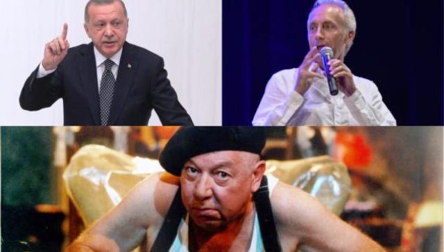 """Merdogan – L'acuto editoriale di Marco Travaglio – """"Che il presidente turco Recep Tayyip Erdogan sia una merdaccia è un dato ormai acquisito""""…!"""