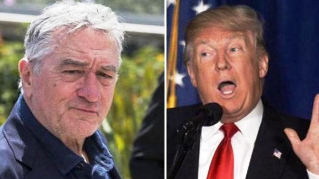 "Robert De Niro senza freni: ""Trump è un idiota, dobbiamo liberarcene"""