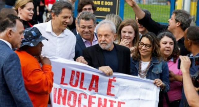 """Brasile – Lula libero: """"Non hanno imprigionato un uomo, hanno imprigionato un'idea e un'idea non muore"""""""