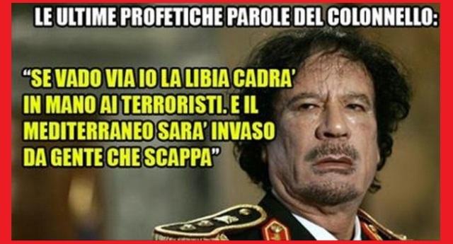 """Parla l'ex Portavoce di Gheddafi: """"La Libia è stata distrutta dalla brama dei leader occidentali di continuare a sfruttare le ricchezze dell'Africa"""""""