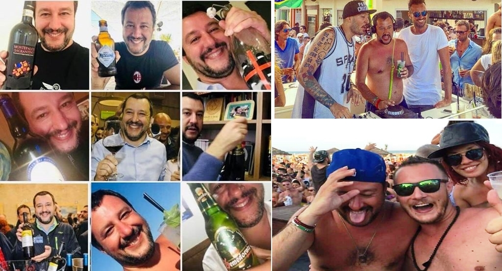 """Salvini sulla morte di 2 ragazze per l'incidente di Roma: """"C'è qualcuno che vorrebbe la droga di Stato"""" …Qualcuno ricordi: A) che l'assassino era UBRIACO. B) Salvini da ministro voleva eliminazione i limiti di vendita degli alcolici. C) chi continua a mostrarsi in giro ubriaco dovrebbe avere almeno la decenza di stare zitto…"""