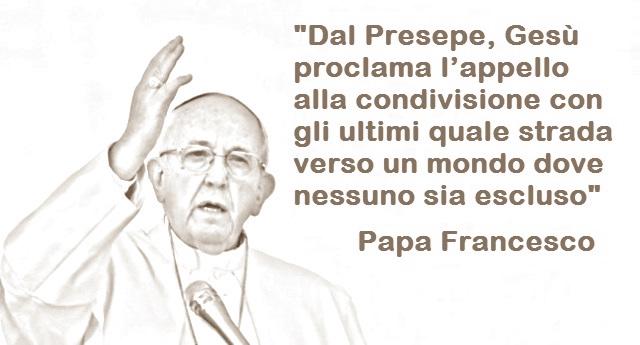 Papa Francesco: Chi usa il Presepio come propaganda tradisce il messaggio del cristianesimo