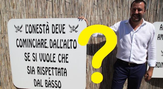 21 dicembre 2019 – La Lega cambia nome e statuto. Così gli Italiani sono fottuti per la seconda volta e possono dire addio ai famosi 49 rubati dal partito di Salvini…!