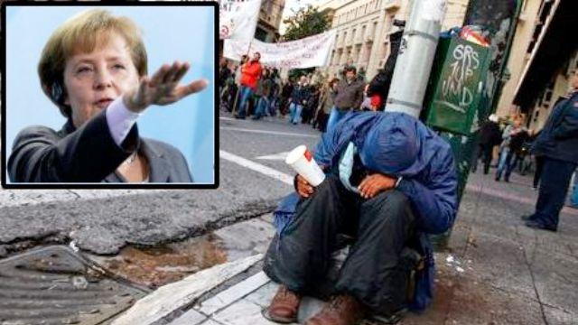 """Ecco come il MES ha """"aiutato"""" la Grecia: il 95% degli oltre 200 miliardi stanziati sono stati usati per salvare le banche greche e soprattutto i loro creditori: le banche francesi e tedesche. Ed il paese è stato abbandonato nel dramma…!"""