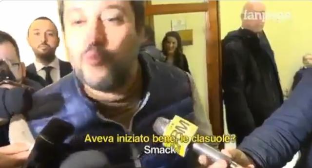 Signore e Signori questo è Salvini: sul MES vuole denunciare Conte per alto tradimento, ma non sa neanche di cosa sta parlando… Il video che lo consacra il politico più ridicolo della storia Italiana…!