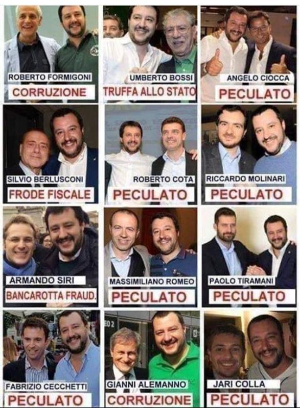 Caro Salvini, ma a questi li hai mai citofonato?