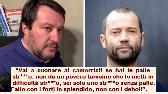 """Fabio Volo in diretta contro il giustiziere del citofono Matteo Salvini: """"Vai a citofonare ai camorristi se hai le palle str***o senza palle"""""""