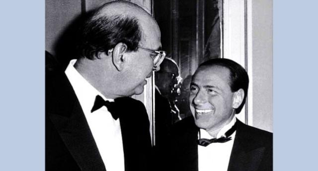 """Berlusconi ricorda Craxi: """"Italiano modello – Ha pagato per le sue idee"""" – Perchè """"tangenti"""" e """"latitanza per scappare dai processi"""" sono """"idee"""" …E poi ricordiamo che l'ultimo che Silvio ha definito """"Italiano modello"""" sta marcendo in carcere per mafia…!"""