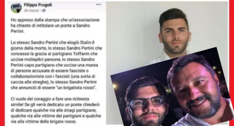 """La cloaca leghista non ha proprio fondo – Filippo Frugoli, consigliere comunale leghista, si permette di insultare Pertini: """"Era un assassino e un brigatista rosso"""""""