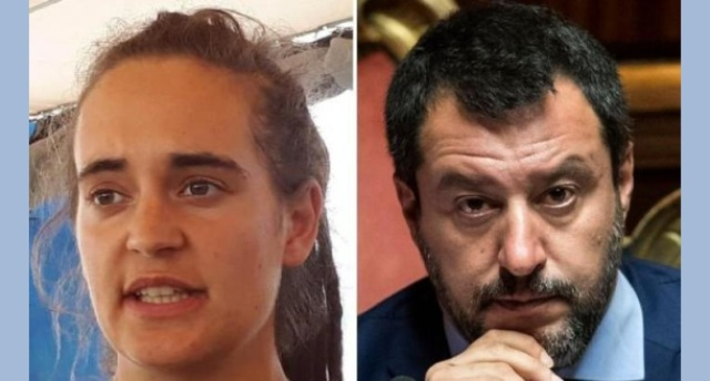 """Dalla Cassazione uno """"schiaffo"""" da KO a Salvini: Carola Rackete ha rispettato i doveri di soccorso…!"""