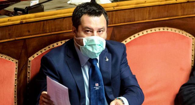 """Salvini: """"Coronavirus diffuso da Cina per colonizzare economie, serve inchiesta"""" …ovviamente è una stronzata. Il problema è che un Italiano su quattro queste stronzate se le beve!"""