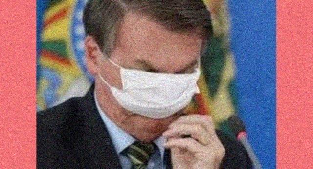 """Bolsonaro: """"I veri uomini non prendono il coronavirus""""… Cari amici, ricordate: questo è il fascismo!"""