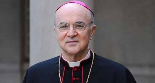 """…E sentite questo – L'arcivescovo Viganò: """"Il Coronavirus è la conseguenza di sodomia e matrimoni gay"""""""