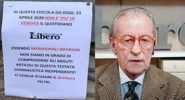 """Non solo """"Meridionali inferiori"""", ecco tutte le schifose esternazioni di Vittorio Feltri. Ed ecco la petizione per la radiazione dall'ordine dei giornalisti – Se non sei come lui, non perdere tempo, FIRMA!"""